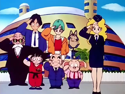 Dragon Ball - Goku's Traffic Safety